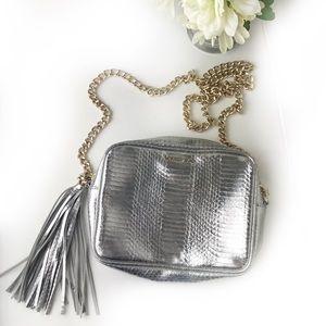 Victoria's Secret Snakeskin Crossbody Bag